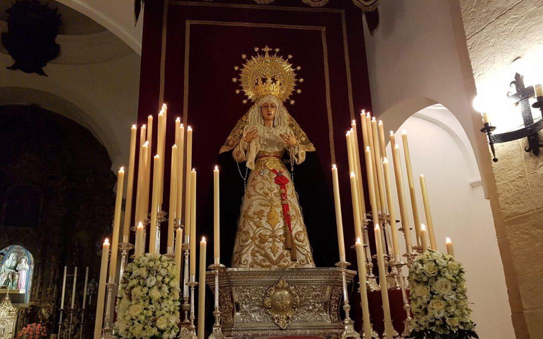 Solemne Triduo en honor de Nuestra Señora de la Esperanza