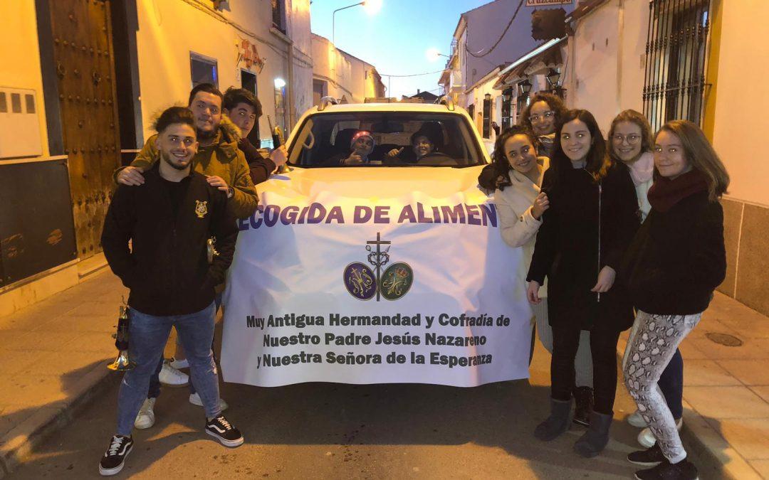 La carretilla solidaria volvió a recorrer las calles de La Roda