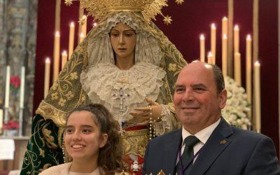 Y SSMM el Rey Gaspar💜💚ya tiene su «Corona»