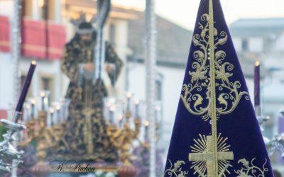 Estampa histórica para el recuerdo con el Vía Crucis del Señor