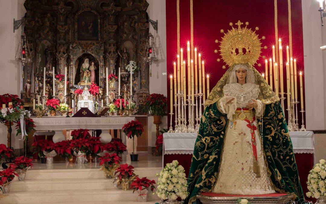 CULTOS EN HONOR DE nuestra Titular, Nuestra Señora de la Esperanza