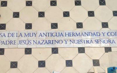 Un mosaico del ceramista Jesús Alcarazo presidirá la remodelada fachada de la Casa Hermandad